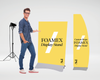 Foamex Display Stand