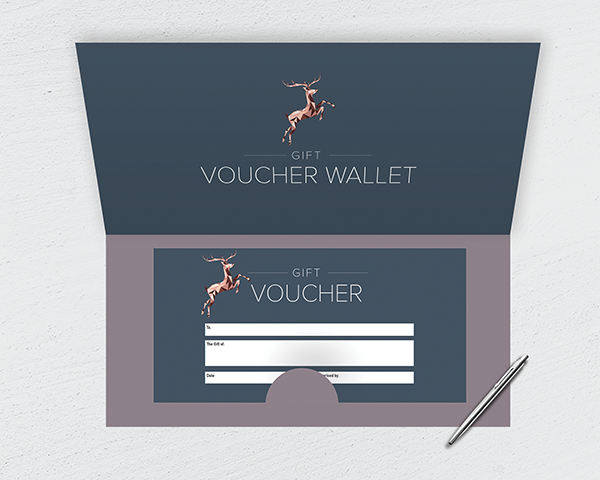 Gift Voucher Wallets (Horizontal)