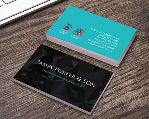 Deluxe Business Cards (450gsm V/Lam)