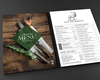 Laminated Table Menu Printing