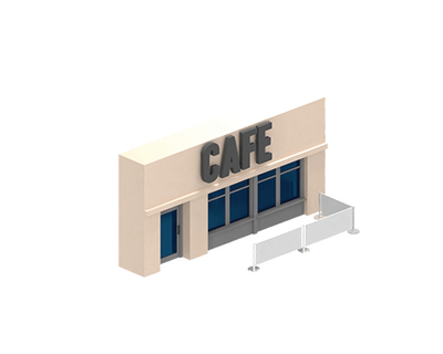 Luxe Cafe Barrier Diagram
