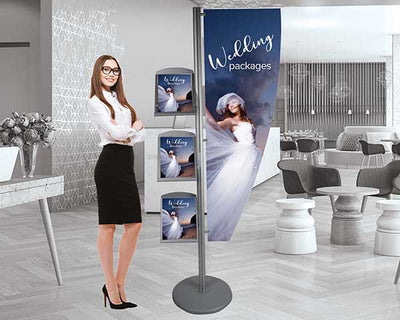 Marketing Media Post Wedding Display
