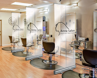 Salon Protective Divider Screens