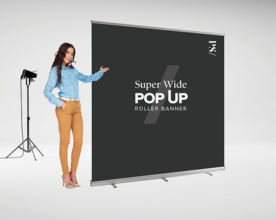 Everyday Super Wide Roller Banner