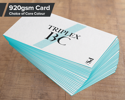 Triple Layer Business Card Colours
