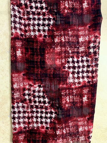 Maroon's Plaid