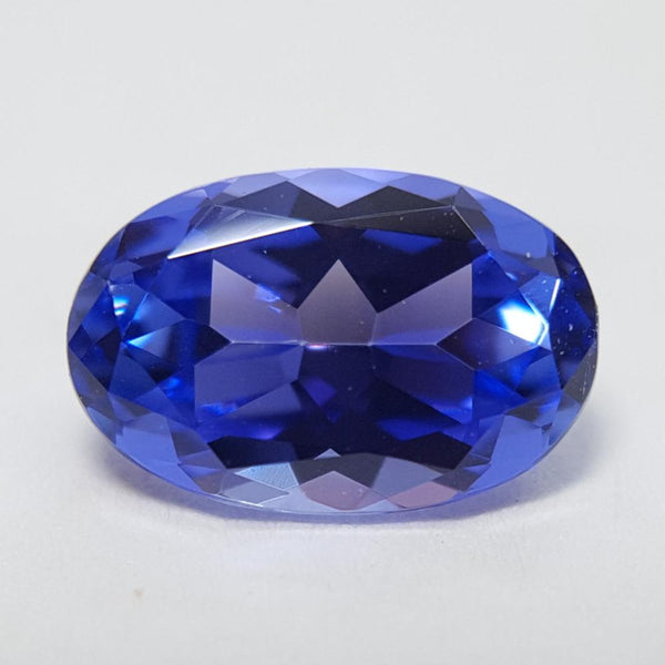 Tanzanite - 0.91ct Oval Gemstone - Spada Diamonds