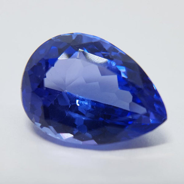Tanzanite - 5.48ct Pear Gemstone - Spada Diamonds
