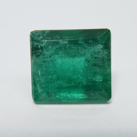 Emerald - 2.91ct Rectangle Step Cut Gemstone - Spada Diamonds