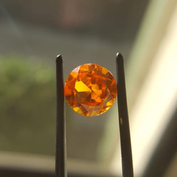 Citrine - 3.74ct Round Gemstone - Spada Diamonds