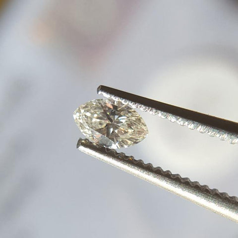 Natural 0.16ct K VS2 Marquise Diamond - Spada Diamonds