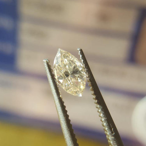 Natural 0.52ct L VS2 Marquise Diamond - Spada Diamonds