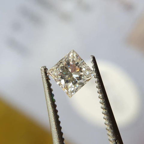 Natural 0.35ct D VVS2 Princess Diamond - Spada Diamonds