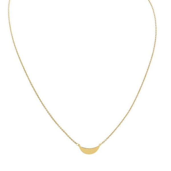 14kt Yellow Gold Ikhola Necklace - Spada Diamonds