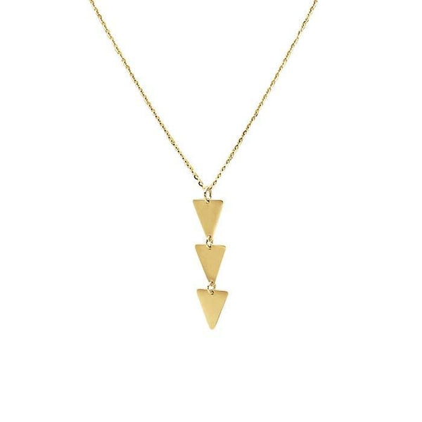 14kt Yellow Gold Ntathu Necklace - Spada Diamonds