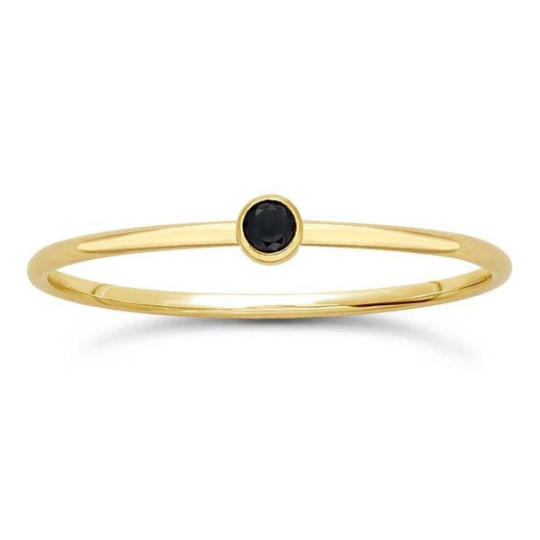 Gold Filled Nero Ring - Spada Diamonds