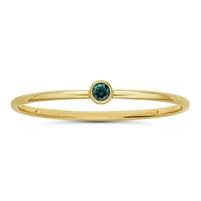 Gold Filled Verde Ring - Spada Diamonds