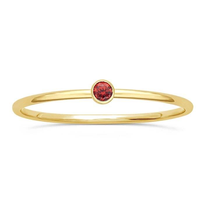Gold Filled Rosso Ring - Spada Diamonds