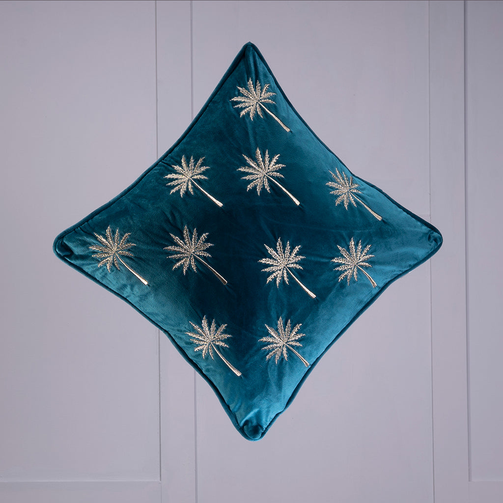 Titania Green Cushion