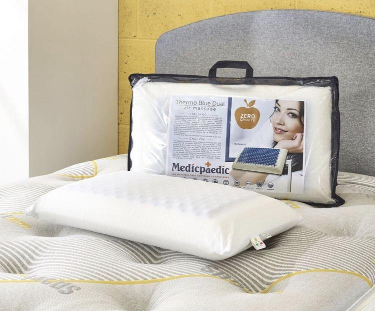 Dual Thermo Blue Gel Pillow