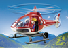 Playmobil - Rescue Helicopter - 9127 (damaged)-Bunyip Toys