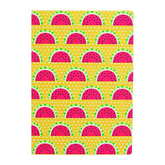 A5 sized Notebook - Tropical Watermelon design, Plain paper