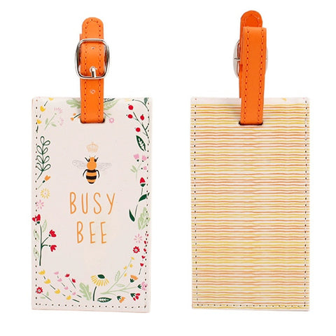 Busy Bee Luggage Tag - Perfect for your travels