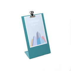 Block Clipboard frame. Desktop Picture Frame - Three colours available