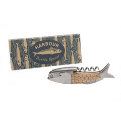 Fish Bottle Opener - Boxed Harbour design bottle opener