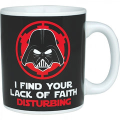 Boxed Ceramic Mug - Darth Vader - I find your lack of faith disturbing, Star wars range of products