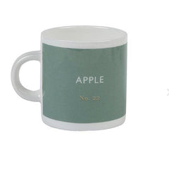 British Colour Standard Apple Green Bone China Espresso Cup