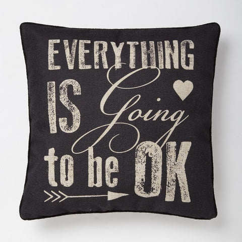 Sass & Belle Cushion - Everything is going to be ok