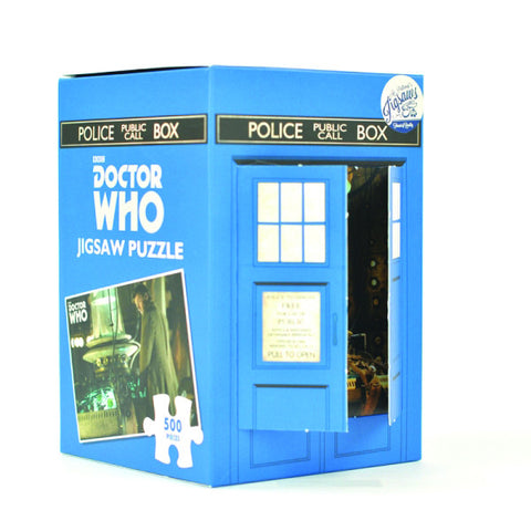 Dr Who Tardis Map 500 Piece Jigsaw -  A puzzle for the whole family