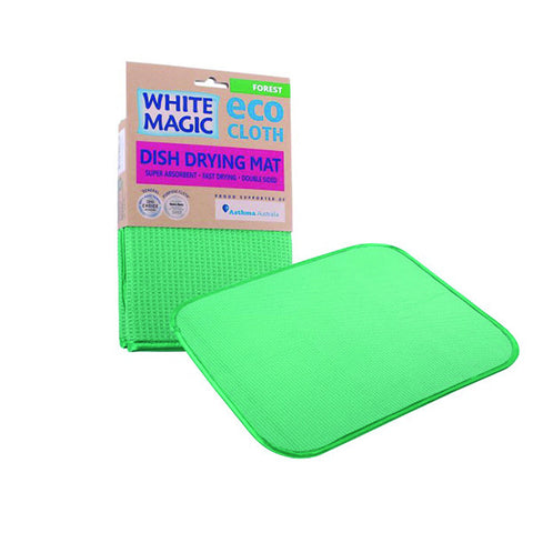 White Magic ECO Cloth  Dish Drying Mat - Various Colours