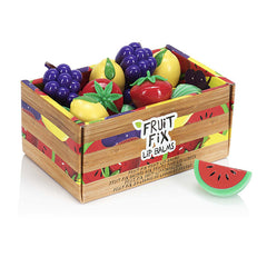NPW Fruit Fix Fruit Shaped lip balm -  Four flavours available