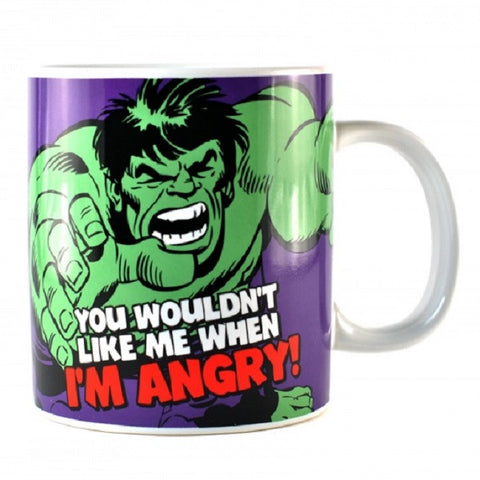 Boxed Ceramic Mug - Incredible Hulk Giant Mug (550ml)