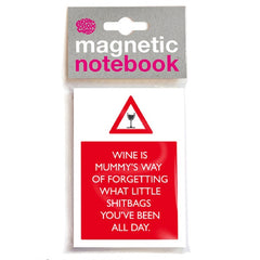 Mummys Wine (Shi*bags) Magnetic To Do list/Notepad