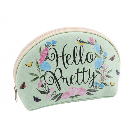 Hello Pretty Birds and Botanica  Make Up bag - Beauty Accessories