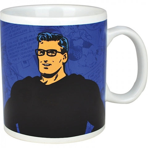 Ceramic Mug - Heat Changing Superman (Clark Kent) design Mug, 400ml