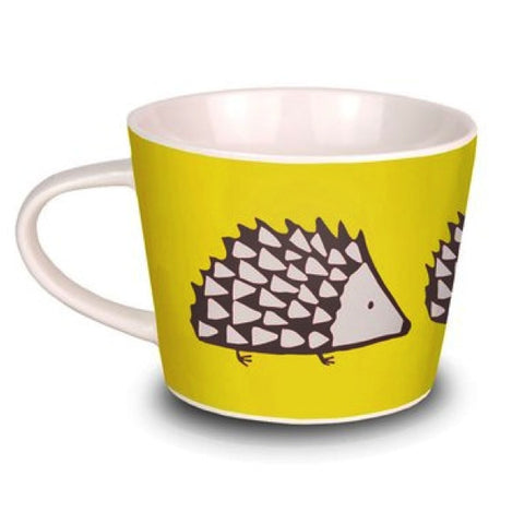 Fine China Mug - Charcoal and Yellow Spike Design Scion Mug