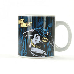 Batman Dark Knight Ceramic Mug - Dark Blue Batman design Mug, 350ml