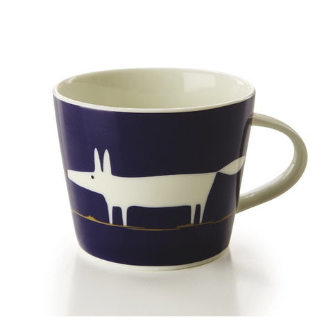 Fine China Mug - Indigo and White Mr Fox, Scion Mug