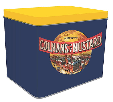 Recipe Tin - Yellow Colman's Mustard Logo Design
