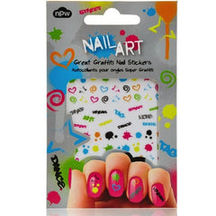 Nail stickers - Great Graffiti Nail art Stickers