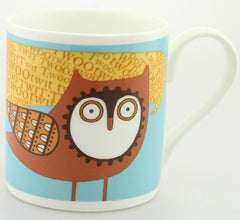 Bone China Mug - Owl Design, Alice Melvin Mug