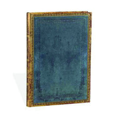 Paperblanks Midi Notebook - Paperblanks Riviera Blue Midi Lined