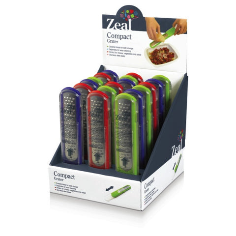 Zeal Compact Cheese or Vegetable Grater - Various Colours