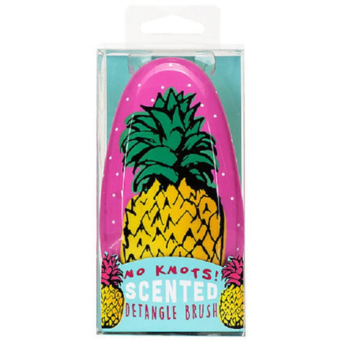 Pineapple Design No Knots Scented Detangle Hair brush