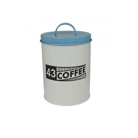 Metal Kitchen Canister - Ration Book (Coffee)