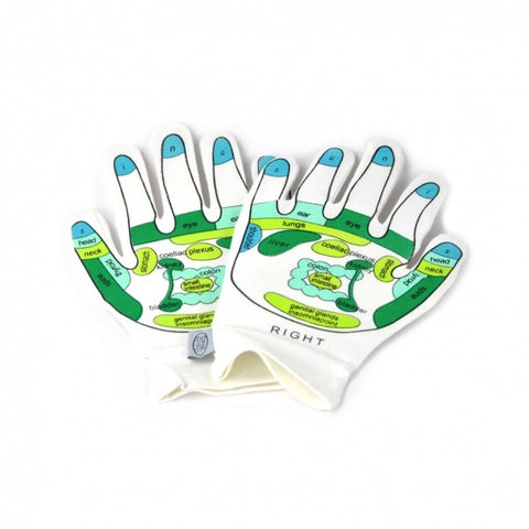 Opal London Reflexology Gloves- Reflexology pattern